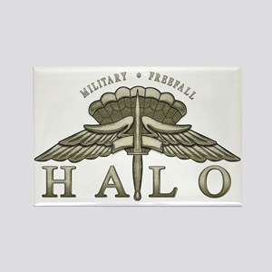 Halo Badge Rectangle Magnet